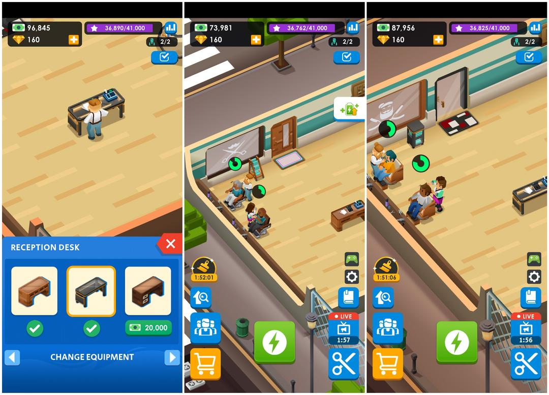 Idle Barber Shop Tycoon Review - A Business Management Game-screenshot4