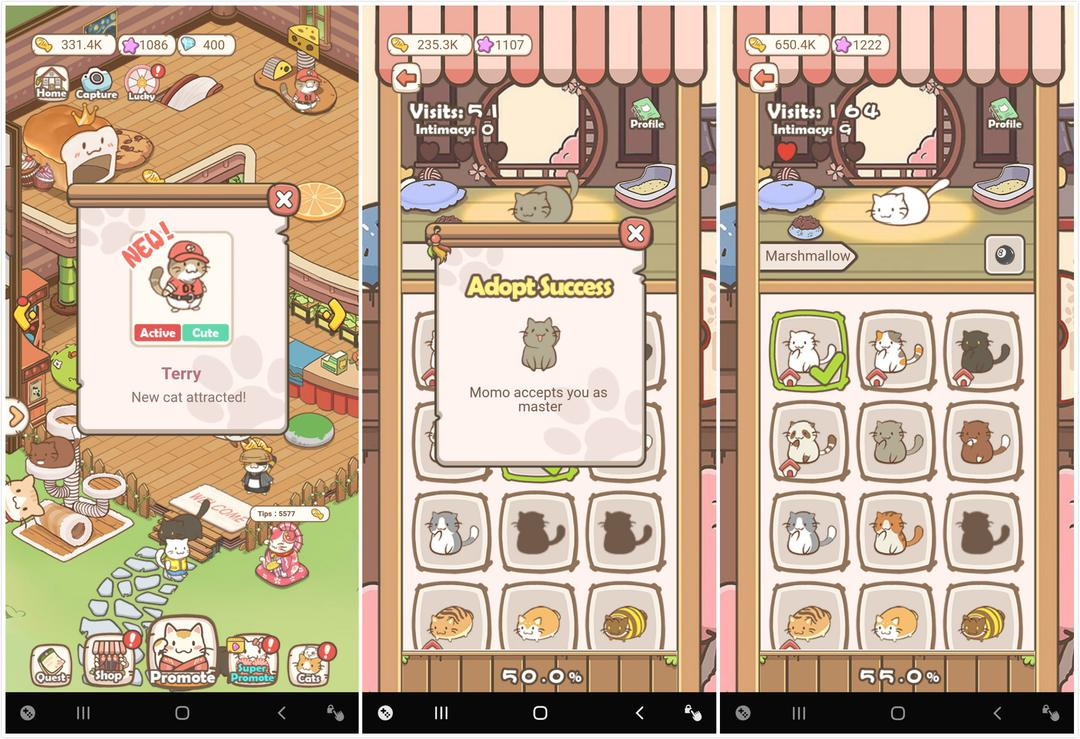 Cats Life - Idle Kitty Collector Review – Similar to Animal Restaurant but More Fun!-screenshot5