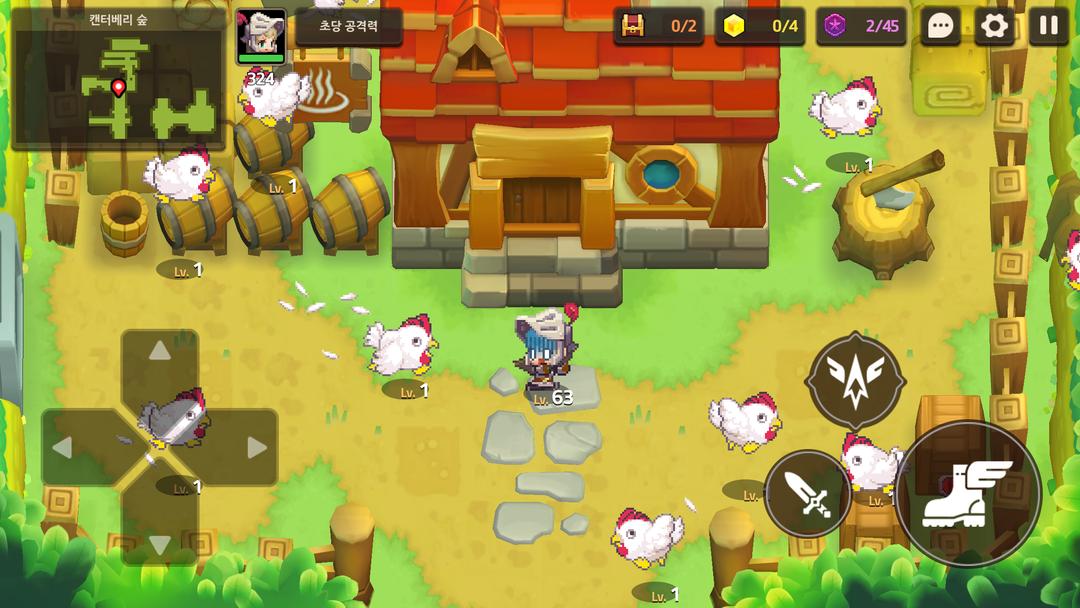 Guardian Tales Testbericht – Ein Action-Adventure-Rollenspiel im Retro-Stil-screenshot2