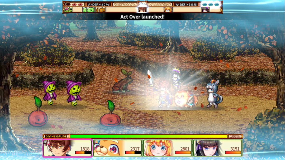 RPG Chroma Quaternion Testbericht – Erlebe Abenteuer durch JRPG im Pixel-Art-Stil-screenshot5