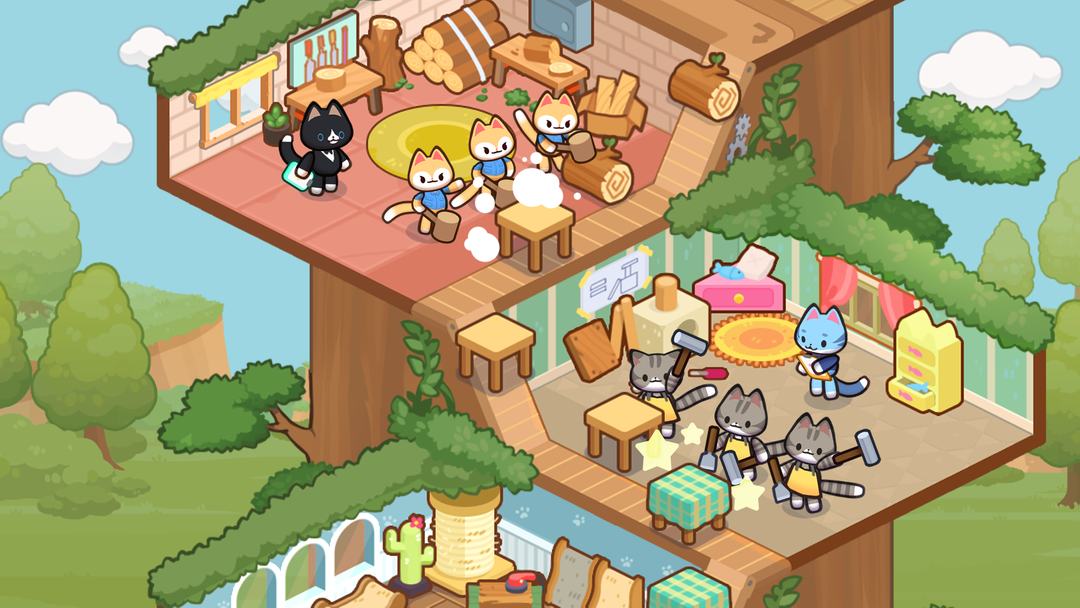 Idle Cat Tycoon: Furniture Craft Shop Review-screenshot2