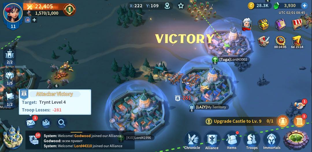 Infinity Kingdom – A Cartoon-Style MMO RPG with Empire Builder-screenshot8