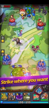 Nano Legends Review - Another Tower Rush Strategy Game-screenshot1