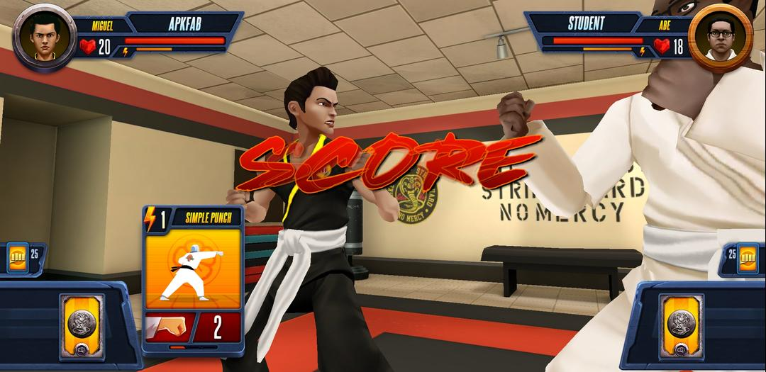 Cobra Kai Card Fighter Review – A Card-Based Fighter Available on Android-screenshot6