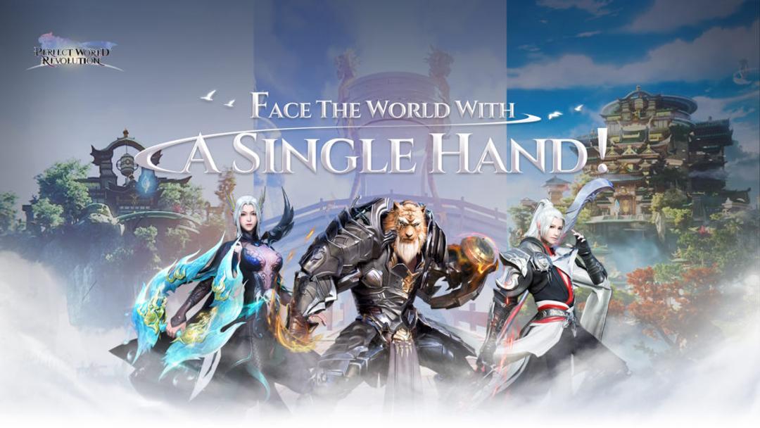 《Perfect World Revolution》MMORPG手遊已破百萬人預註冊-screenshot1