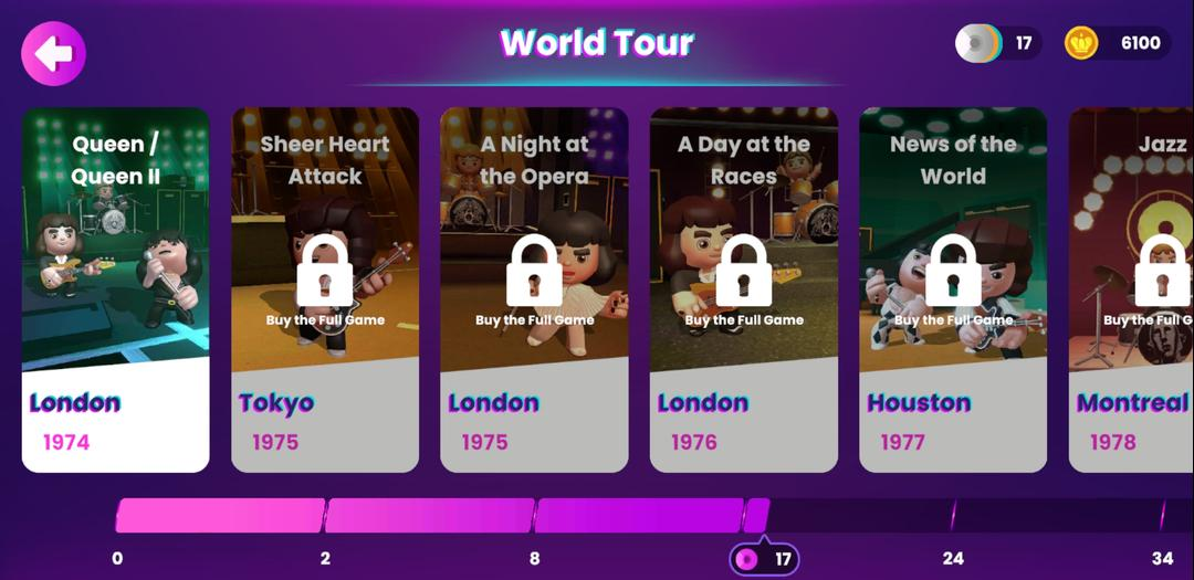 Queen Rock Tour - The Official Rhythm Game First Impression-screenshot2