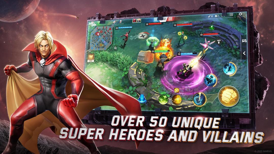 《漫威超級戰爭》評測 - 漫威粉值得期待的首款MOBA手遊-screenshot2