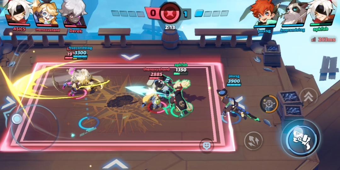 スマッシュレジェンドーー緊張感爆発の3分リアルタイム乱闘-screenshot3