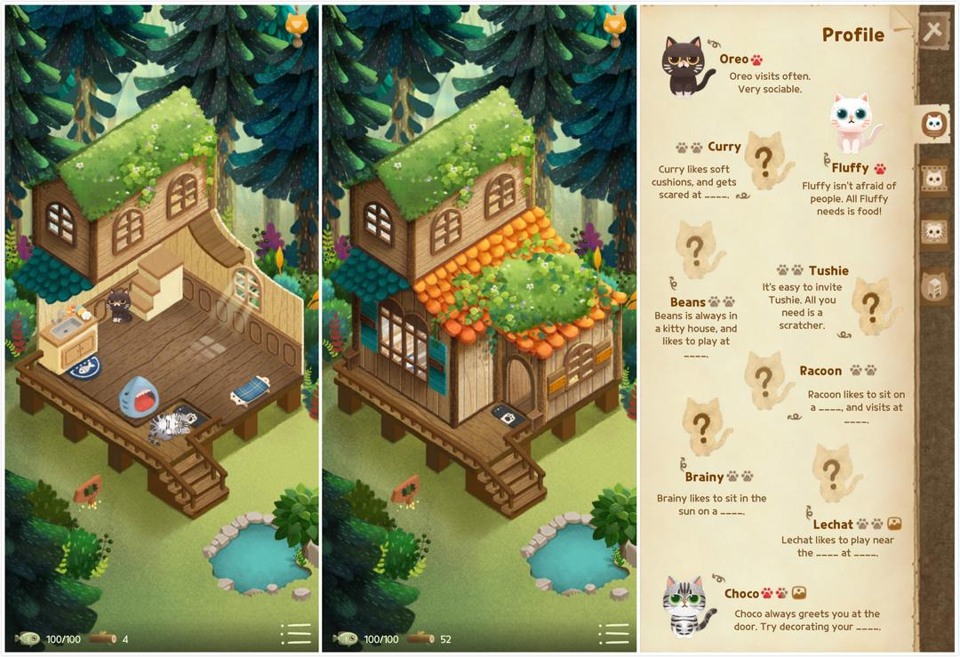 Secret Cat Forest Review – A Cute Cat Simulation with Relaxing Graphics and Music-screenshot4