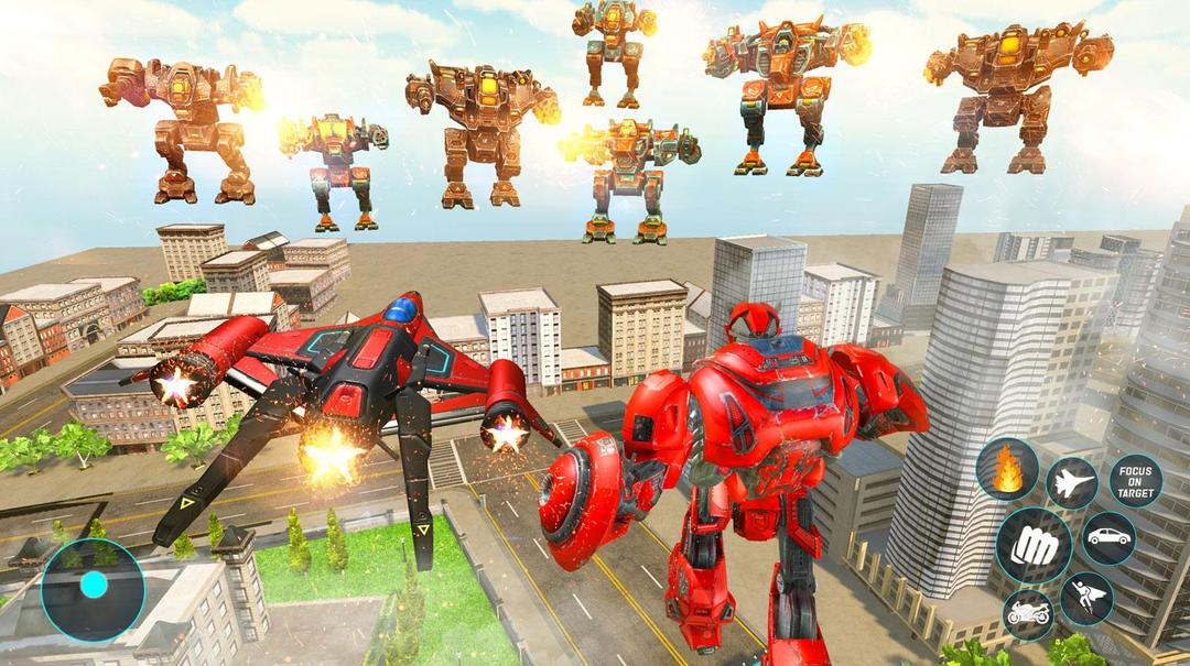 Jet Robot Car Transformation Robot Car Games Testbericht-screenshot5