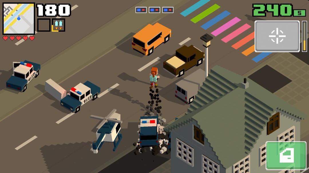 Smashy Road: Wanted 2 Review - An Addictive Police Car Chasing Simulation Game-screenshot1