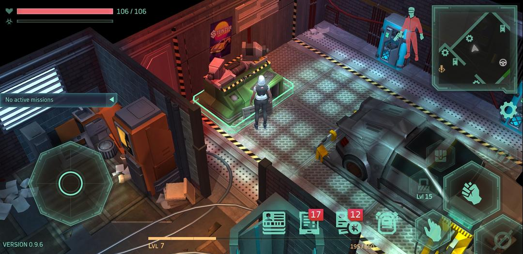 Cyberika Action Adventure Cyberpunk RPG First Impression-screenshot5