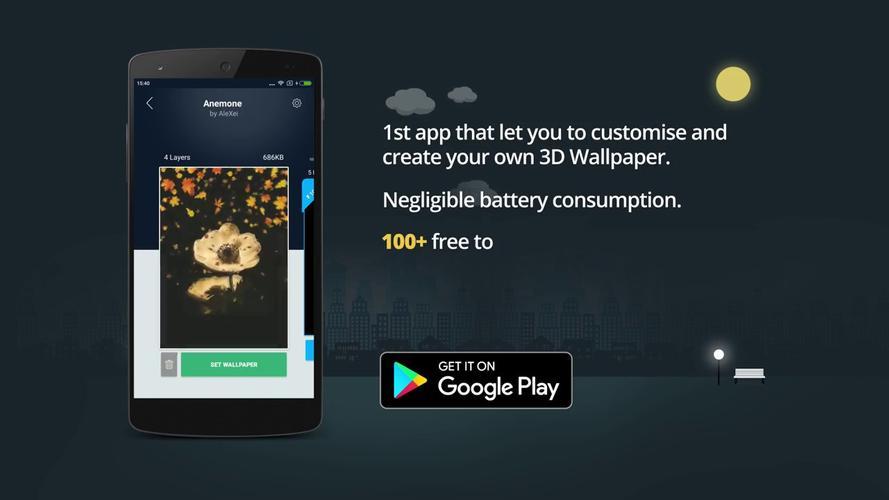 3d Wallpaper Parallax 4d Backgrounds Apk 60338 Download