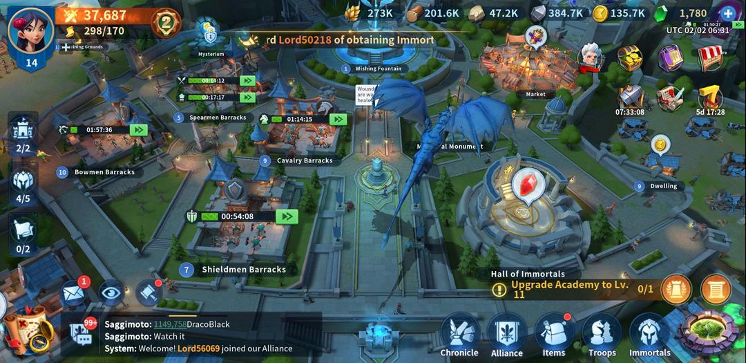 Infinity Kingdom – A Cartoon-Style MMO RPG with Empire Builder-screenshot1