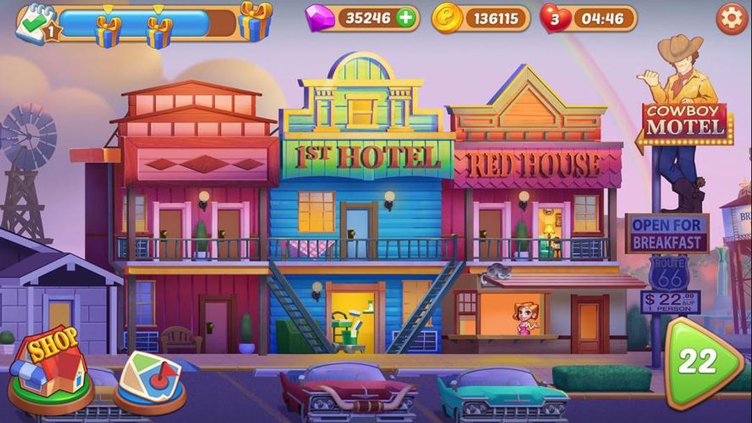 Hotel Craze: Grand Hotel Story Testbericht - Eine lässige und lustige Time-Waster-screenshot4