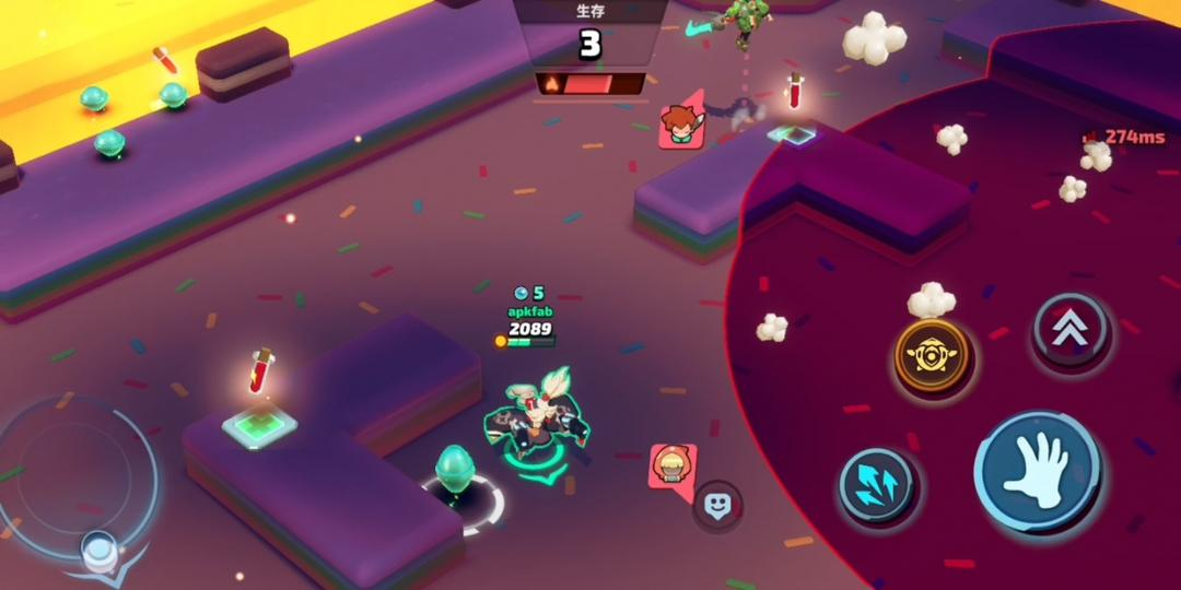 スマッシュレジェンドーー緊張感爆発の3分リアルタイム乱闘-screenshot4