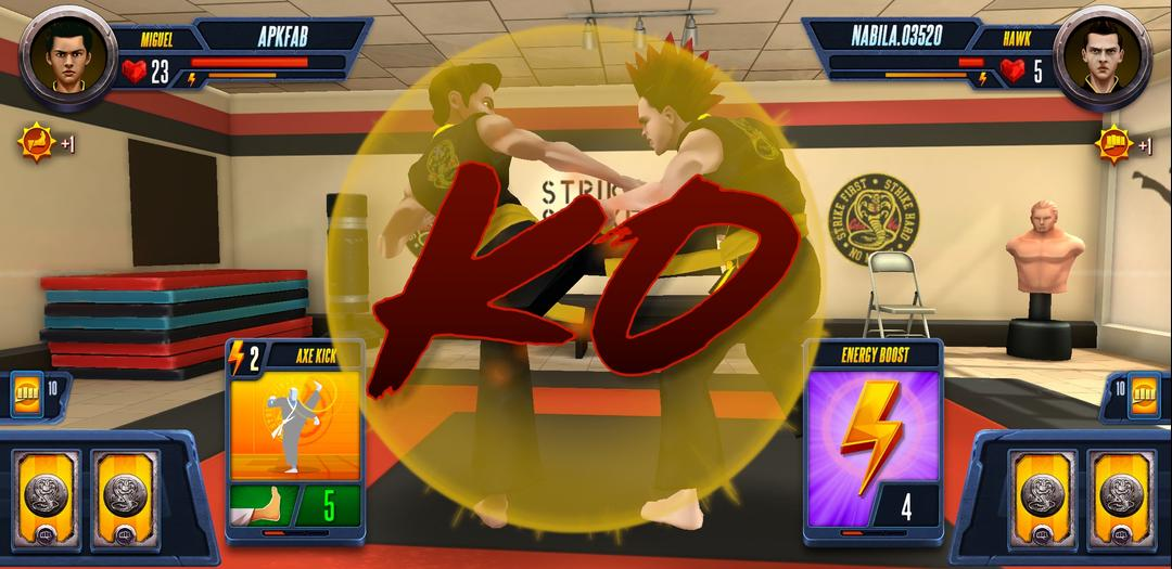Cobra Kai Card Fighter Review – A Card-Based Fighter Available on Android-screenshot4