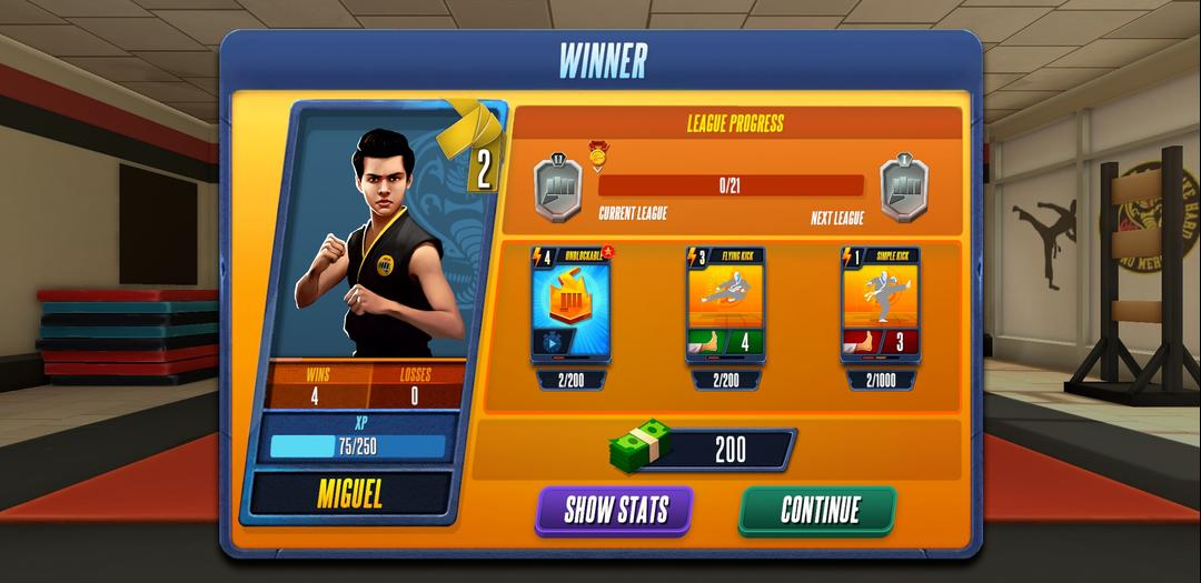 Cobra Kai Card Fighter Review – A Card-Based Fighter Available on Android-screenshot2