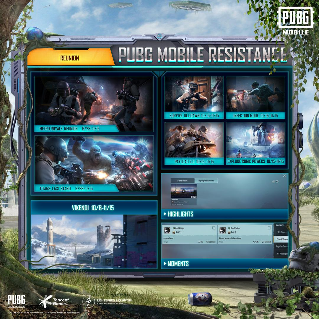 PUBG Mobile: Resistance 1.6 New Patch Released Today-screenshot3