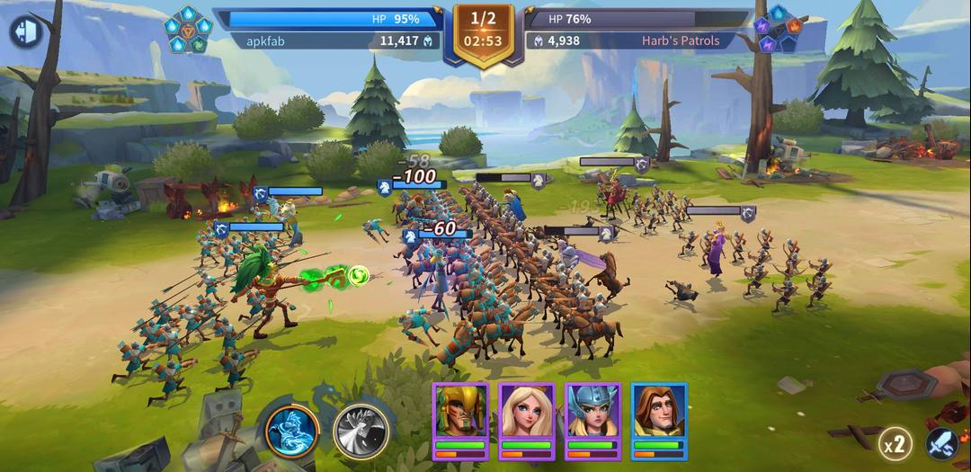 Infinity Kingdom – A Cartoon-Style MMO RPG with Empire Builder-screenshot10