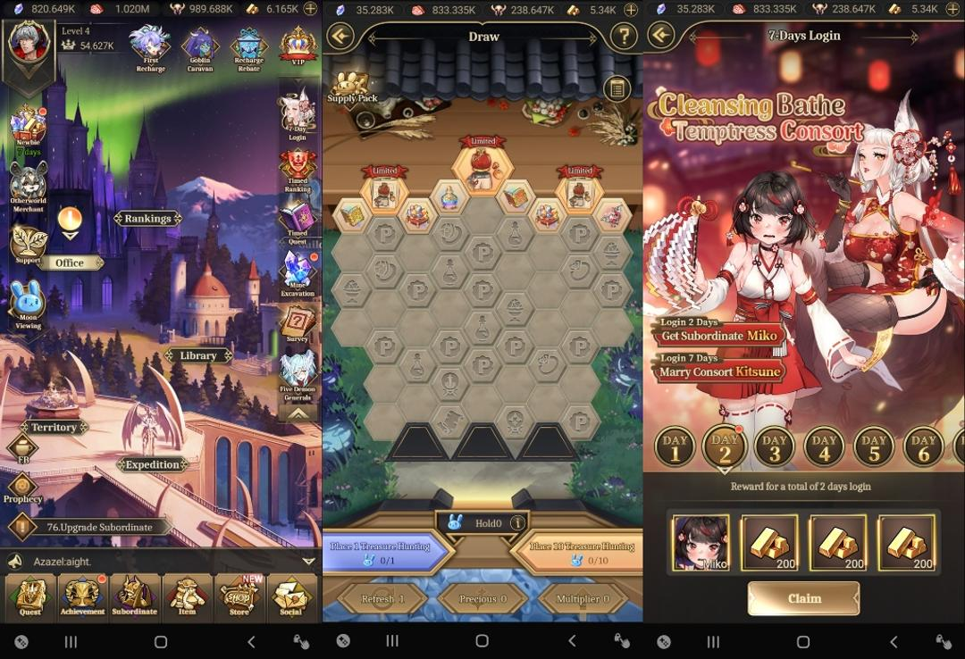 ISEKAI: Demon Waifu Review – Auto Combat RPG without Gacha System-screenshot1