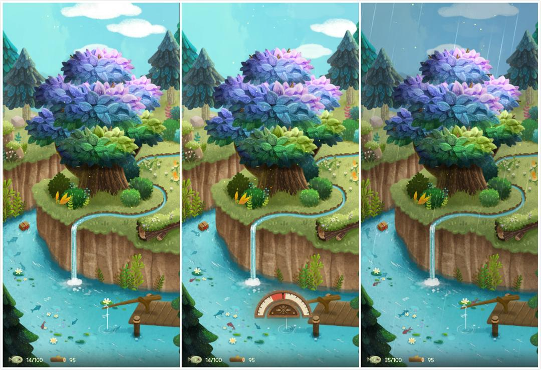Secret Cat Forest Review – A Cute Cat Simulation with Relaxing Graphics and Music-screenshot3