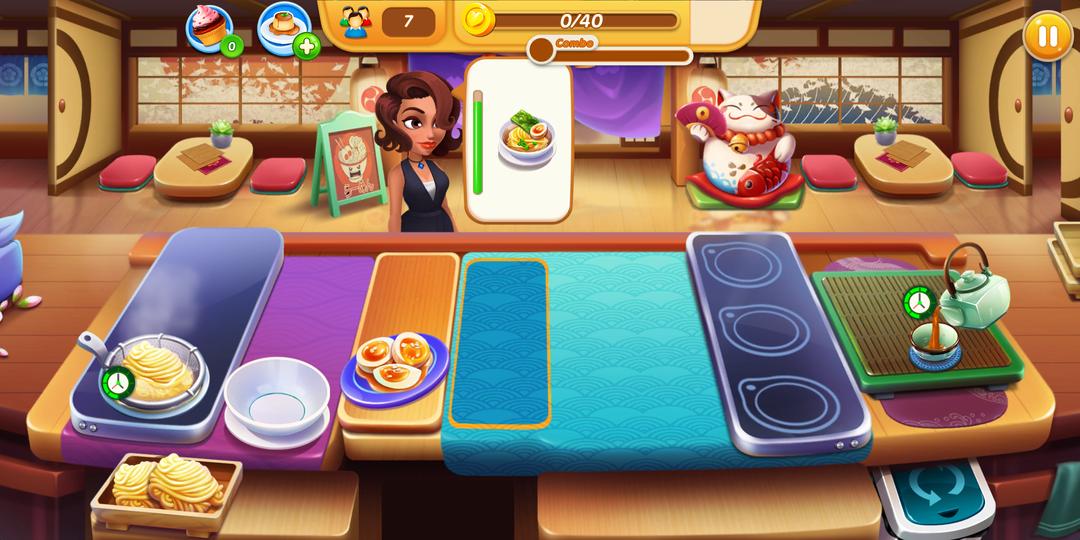 《烹飪之愛 - 瘋狂廚師餐廳烹飪遊戲》評論-screenshot2