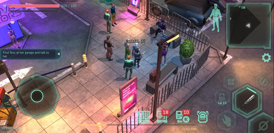 Cyberika Action Adventure Cyberpunk RPG First Impression-screenshot2