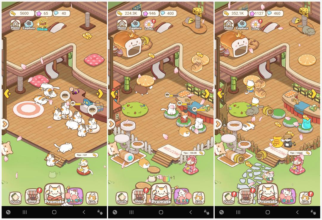 Cats Life - Idle Kitty Collector Review – Similar to Animal Restaurant but More Fun!-screenshot4