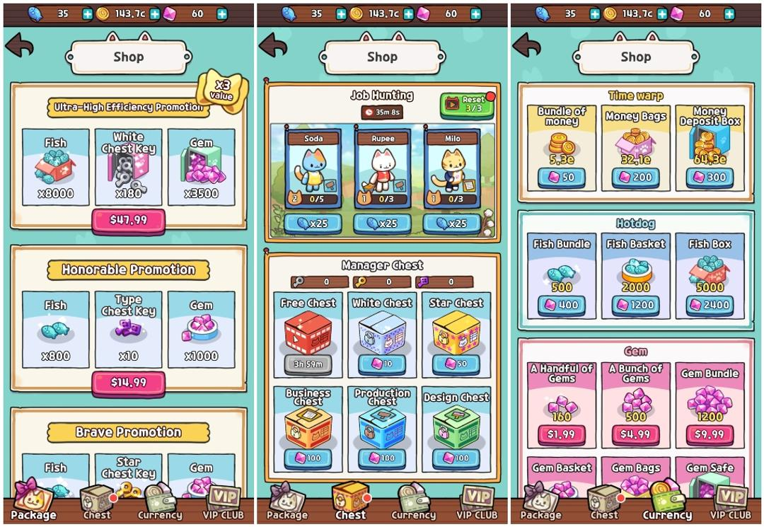 Idle Cat Tycoon: Furniture Craft Shop Review-screenshot6