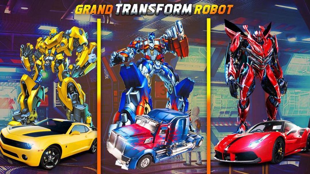 Jet Robot Car Transformation Robot Car Games Testbericht-screenshot4