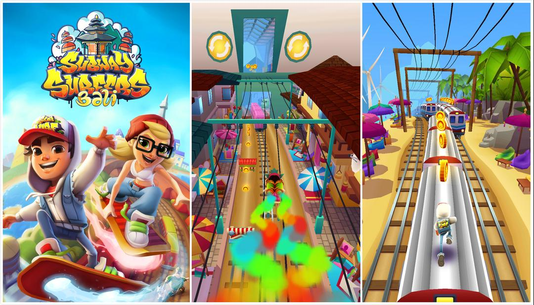 Subway Surfers Review – An Epic Endless Running Game You will Never Get Board Playing-screenshot1