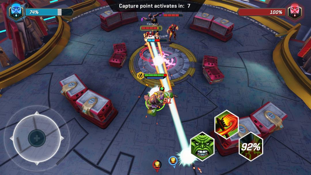 MARVEL Realm of Champions Review - A Team-Based Multiplayer Action Game to Play with Friends-screenshot3