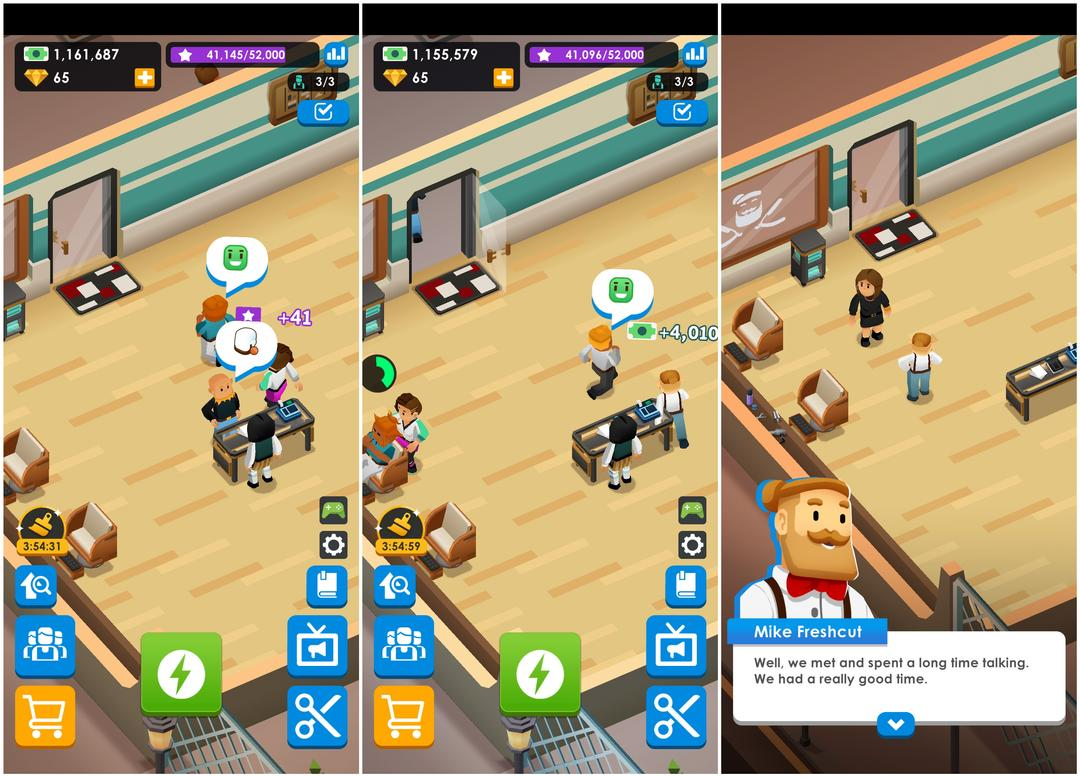 Idle Barber Shop Tycoon Review - A Business Management Game-screenshot2