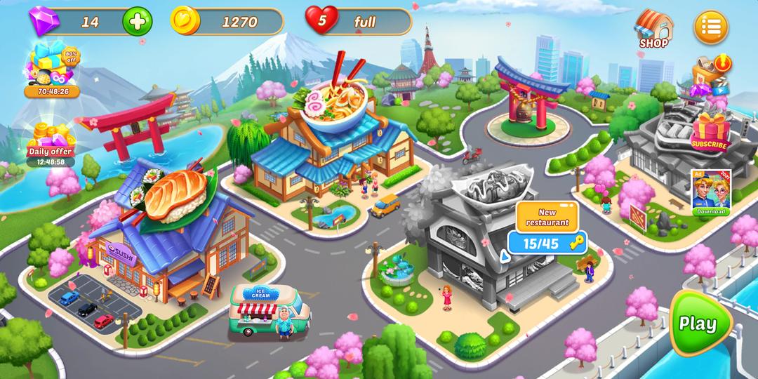 《烹飪之愛 - 瘋狂廚師餐廳烹飪遊戲》評論-screenshot4