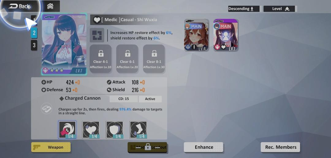 First Impression on Girl Cafe Gun —— A Unique Combination of Cafe and Battleground-screenshot4
