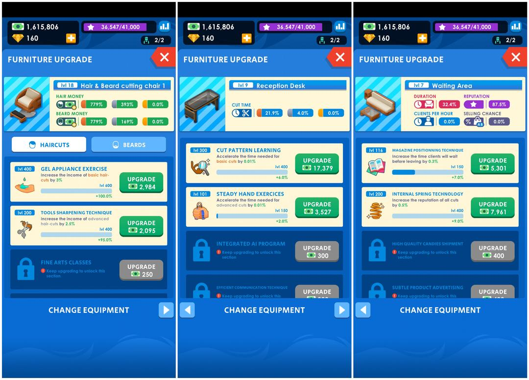 Idle Barber Shop Tycoon Review - A Business Management Game-screenshot5