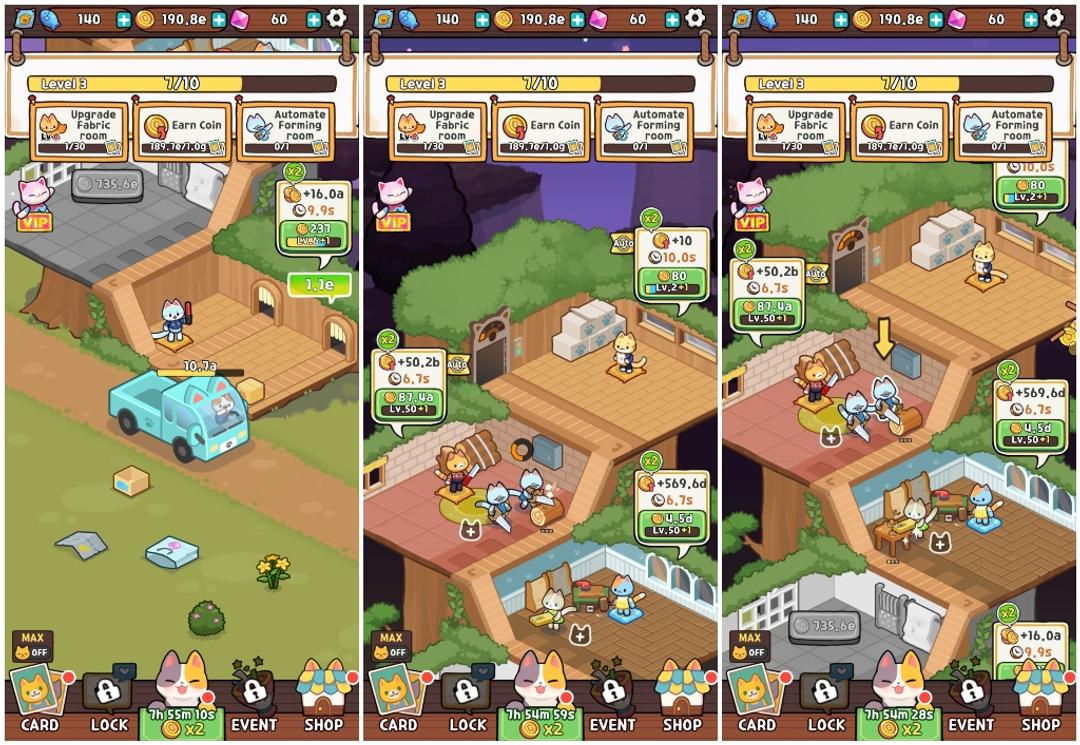 Idle Cat Tycoon: Furniture Craft Shop Review-screenshot1