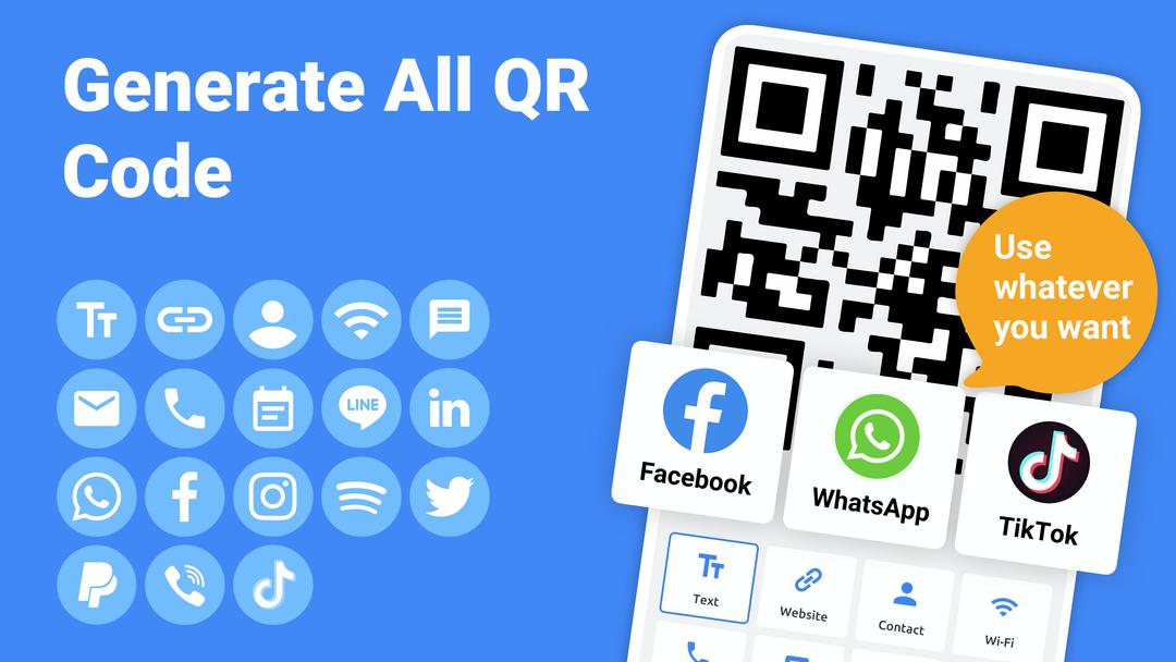 QR Code產生器 - 將文本、URL、音視頻等製作成QR碼,還可添加品牌LOGO,內附使用教程-screenshot1
