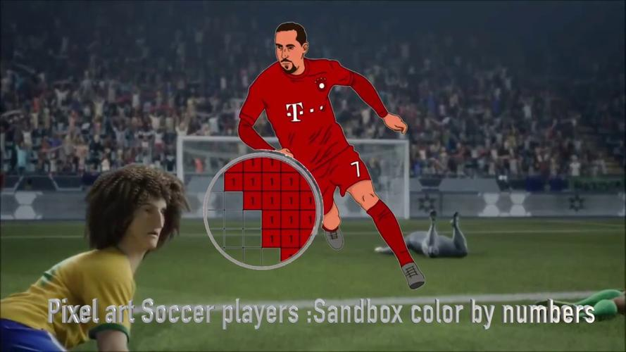 Pixel Art Soccer Players Sandbox Color By Numbers Apk 15