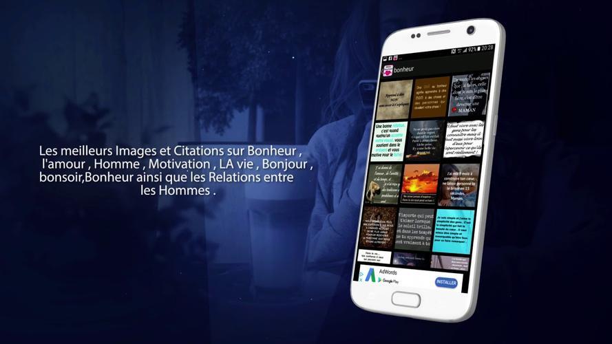 Mots Touchants Le Coeur Apk 30 Download For Android