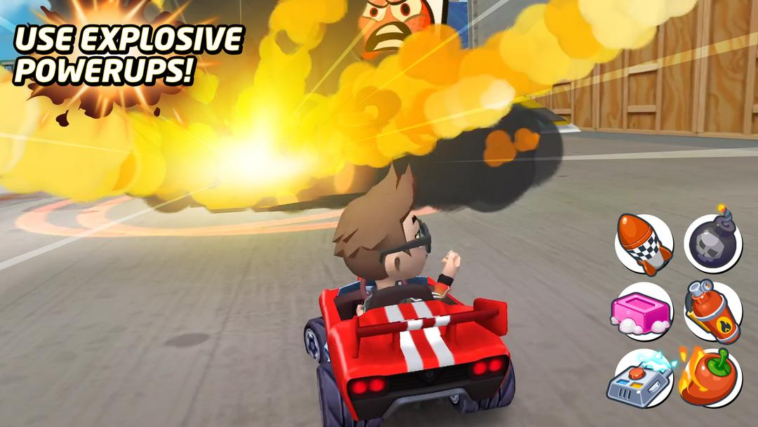 Boom Karts Review - A New Multiplayer Kart Racing Game-screenshot1