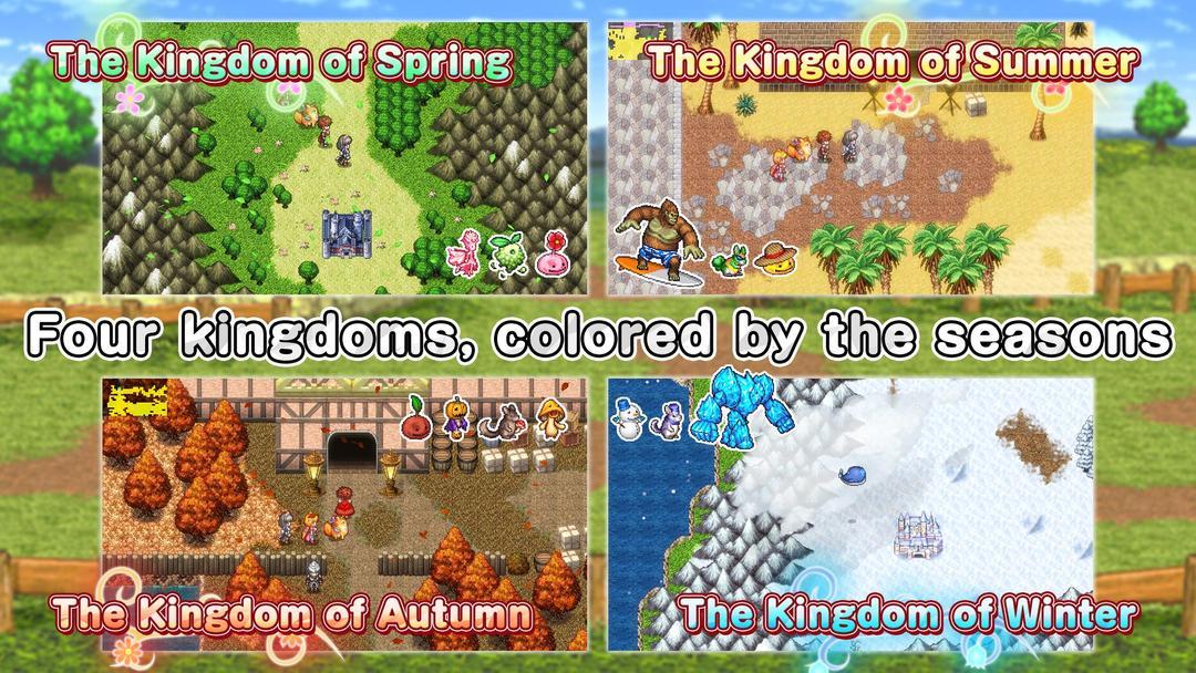 RPG Chroma Quaternion Testbericht – Erlebe Abenteuer durch JRPG im Pixel-Art-Stil-screenshot1