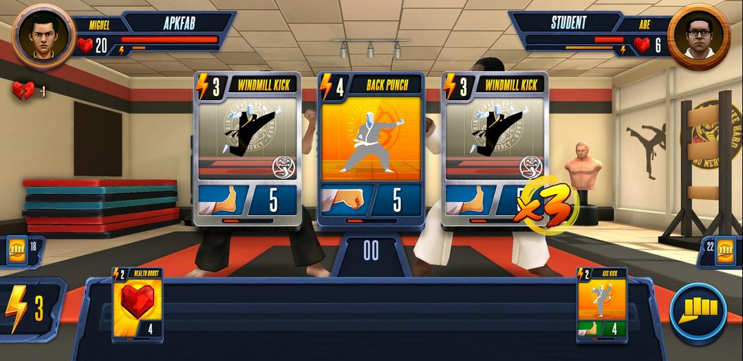 Cobra Kai Card Fighter Review – A Card-Based Fighter Available on Android-screenshot5